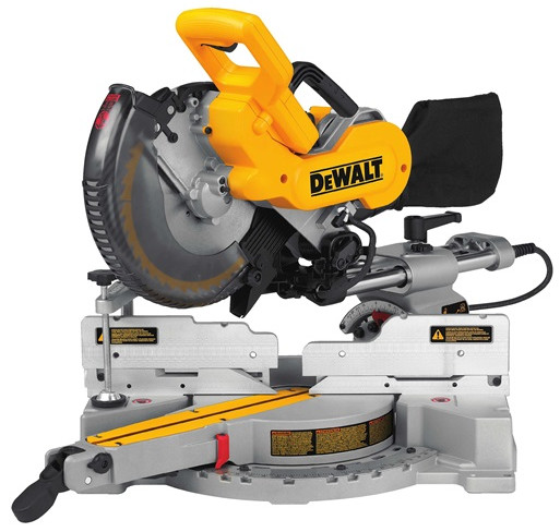 Dewalt dw717 miter saw an exhaustive review by a real woodworker dewalt dw717 10 sliding compound miter saw review greentooth Image collections