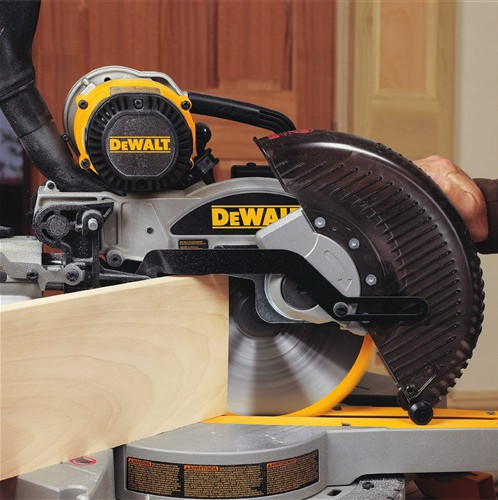 Dewalt dw717 miter saw vertical cut