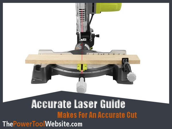 How to adjust your miter saw laser