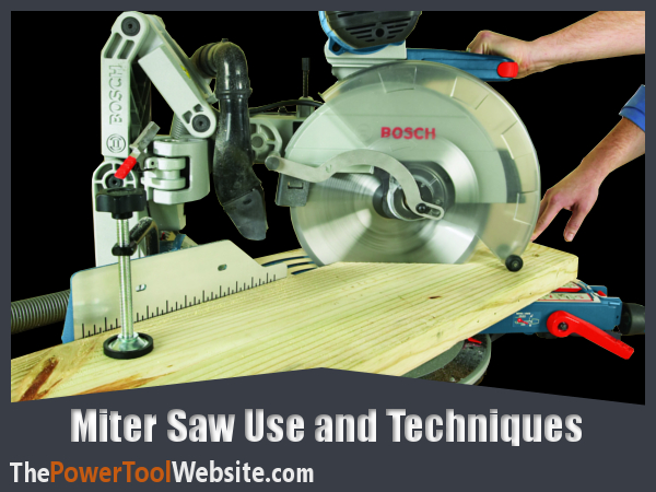 How to use a miter saw featured image