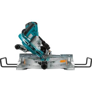 Makita miter saw beveled to the left