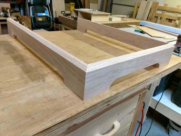 Base molding shaped and fit together