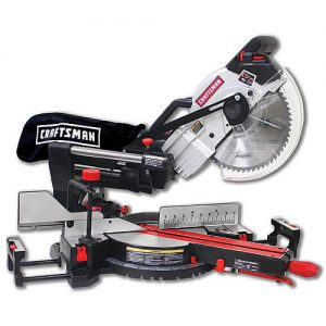 Craftsman SM2509RC beveled with the fence extended