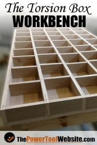 Torsion box workbench