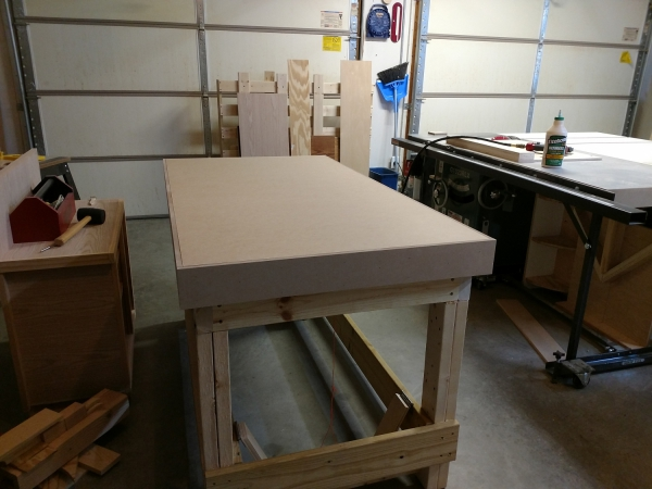 Torsion Box Workbench Complete