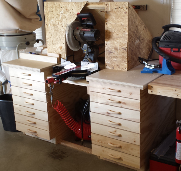 Miter Saw Work Bench