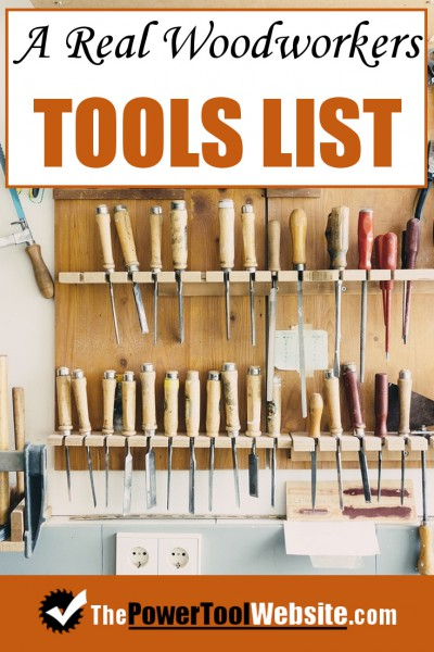 My Complete Woodworking Tools List Benches Tools Jigs