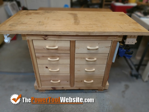 beginner woodworking wood shop workbench