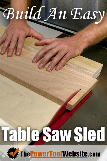 Table Saw Sled