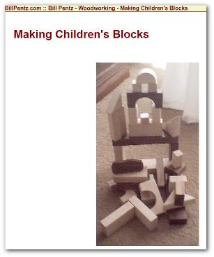 Kids toy building blocks