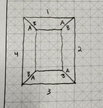 Sketch of frame layout
