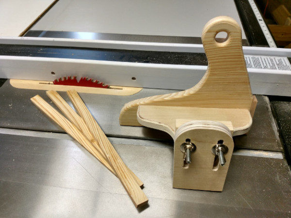 table saw safety - push block