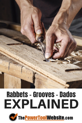 Rabbets, grooves and dados