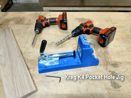 Kreg pocket hole joinery jig the K4