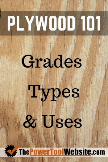 Plywood grades types and uses
