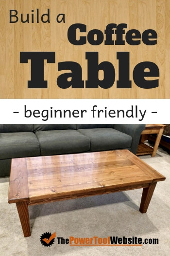 How to build a coffee table