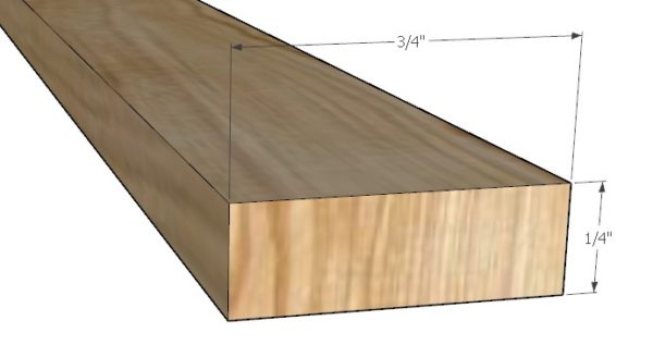 Wood orientation for making runners