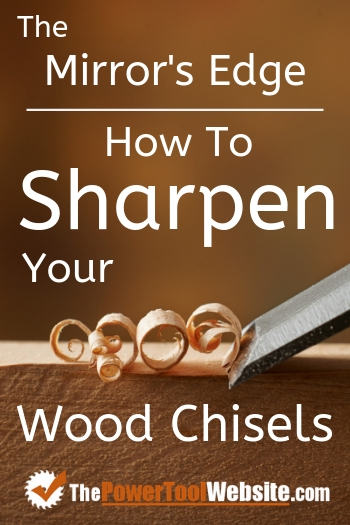 how to sharpen chisels