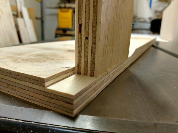 gauging width of the rabbet