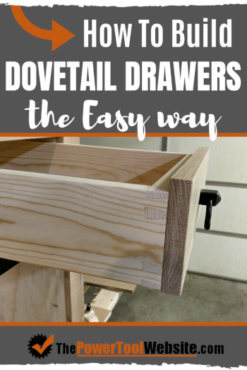 How to build dovetail drawers