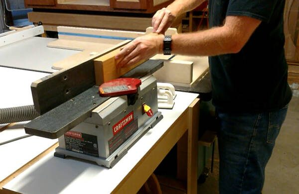 jointer to build flat panels