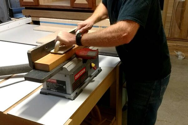 jointing the face of a board