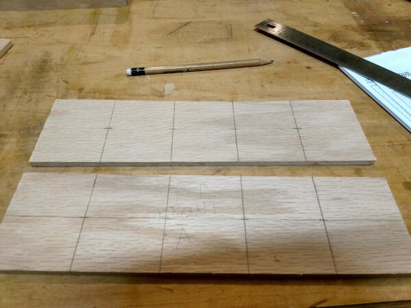 silverware organizer pieces marked