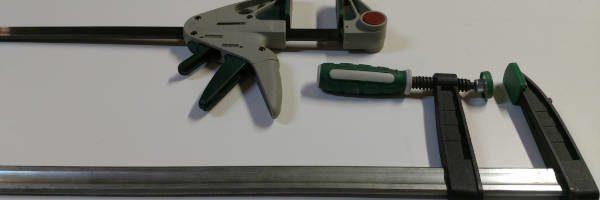 beginner woodworking bar clamps