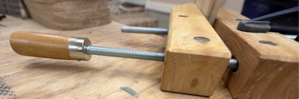 hand screw woodworking clamps