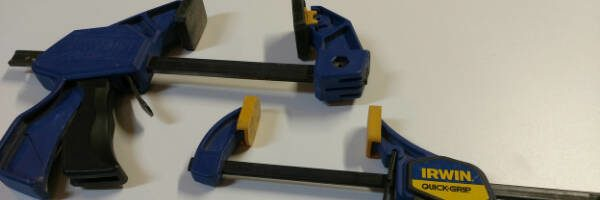 quick clamps used in woodworking