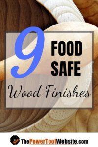 food safe wood finish