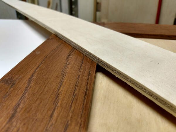 Second miter cut location marked