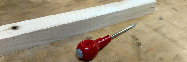 woodworking tools for beginners - center punch