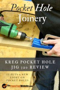 Kreg pocket hole jig 320 review