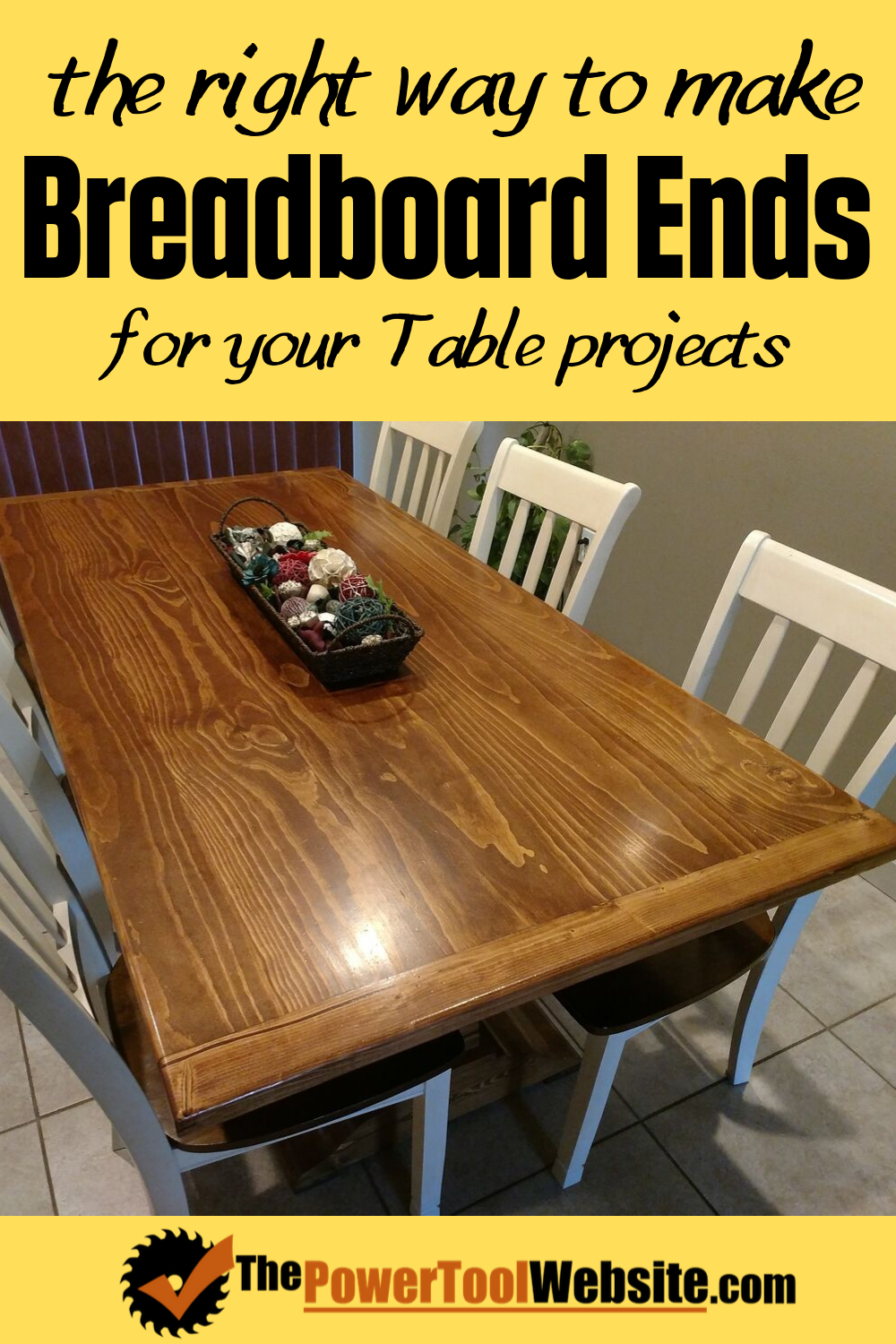 The Right Way To Do Breadboard Ends For Your Table Projects