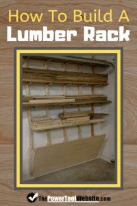 build a lumber rack