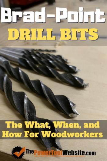 brad point drill bits