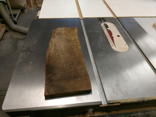 rough cut unsquare board