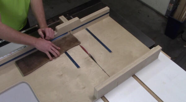 squaring up other end of board