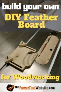diy feather board