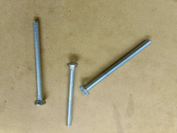 cone shaped bolt heads
